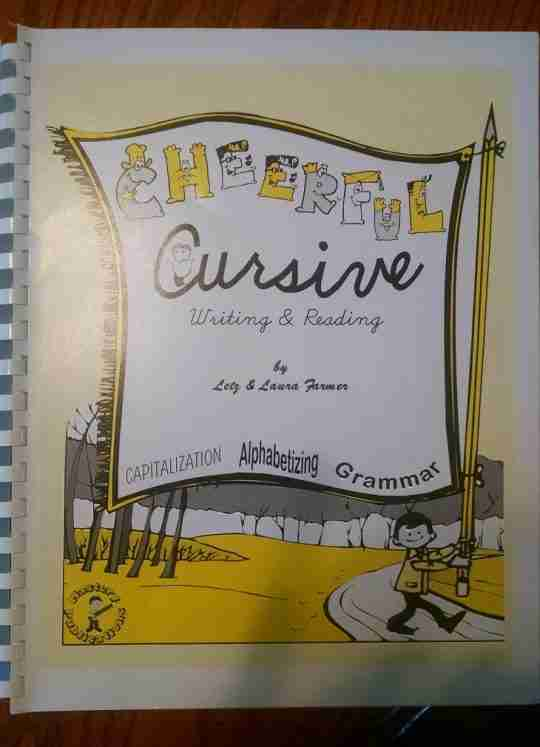 My Review of Cheerful Cursive