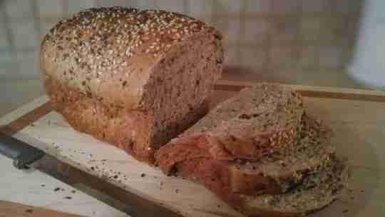 Honey Flaxseed Multigrain Bread Recipe
