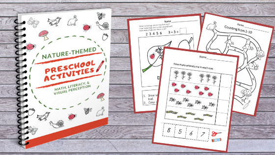 Nature-Themed Preschool Worksheets