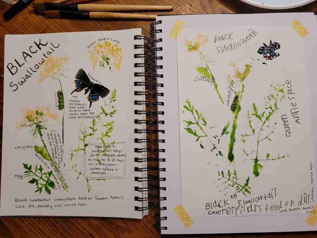 Queen-Annes-Lace-Print-Journal-Page